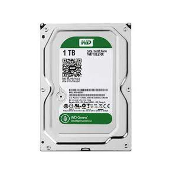 هارد دیسک اینترنال ظرفیت 1 ترابایت سبز وسترن دیجیتال