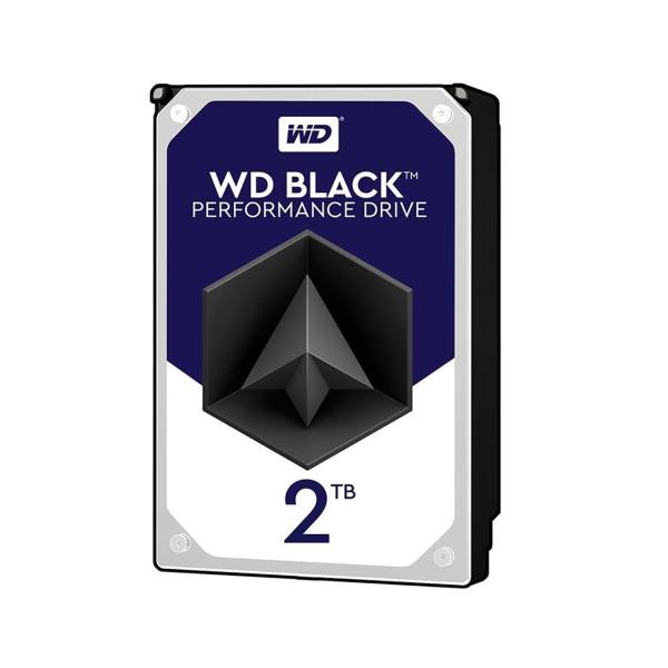هارد دیسک اینترنال 2 ترابایت مشکی وسترن دیجیتال Western Digital Belak