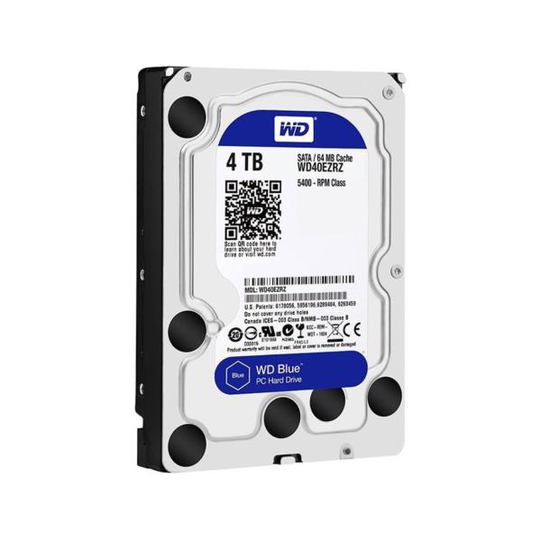 هارد دیسک اینترنال 4 ترابایت آبی وسترن دیجیتال Western Digital Blue