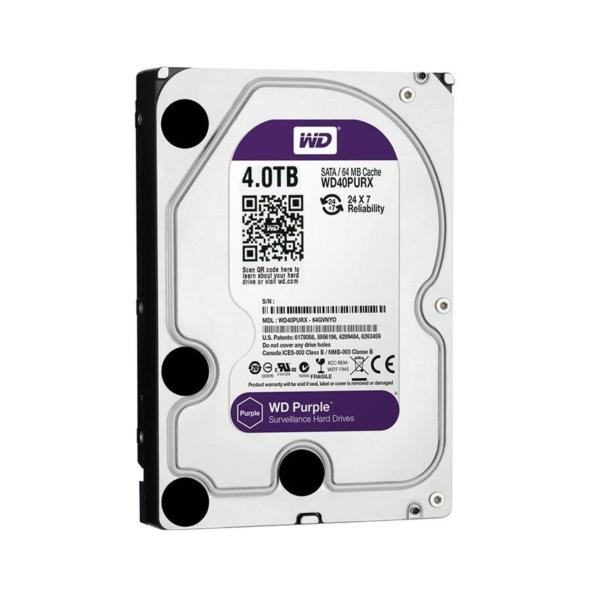 هارد دیسک اینترنال 4 ترابایت بنفش وسترن دیجیتال Western Digital Purple