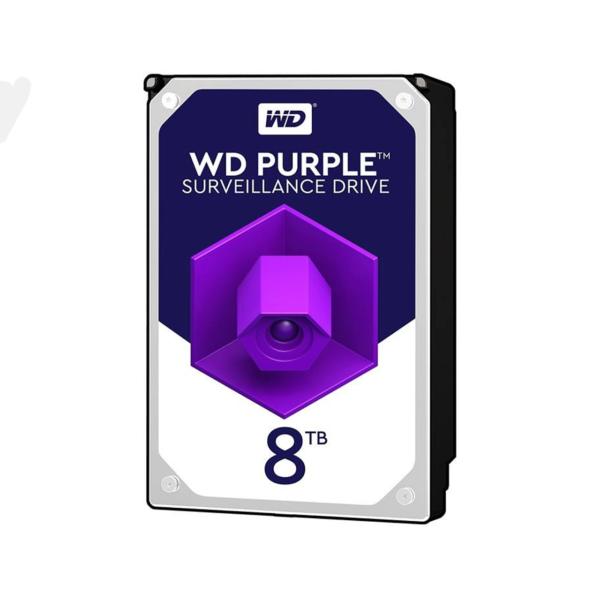 هارد دیسک اینترنال 8 ترابایت بنفش وسترن دیجیتال Western Digital Purple