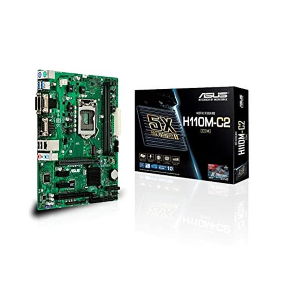 مادربرد ایسوس مدل ASUS Motherboard H110M-C2/CSM