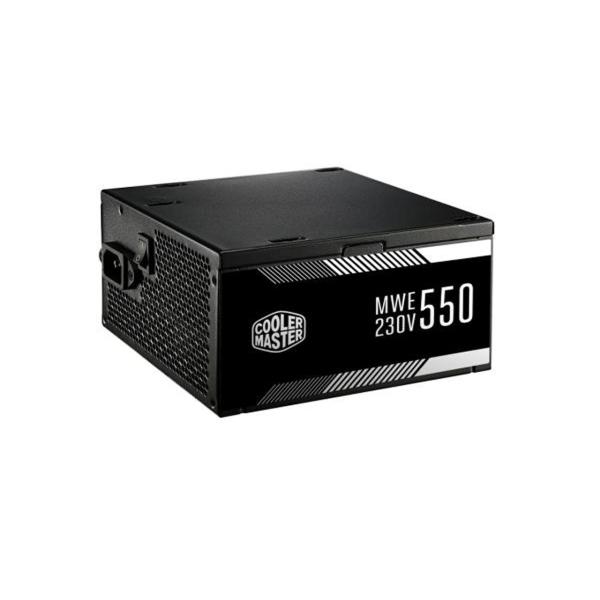 منبع تغذیه کامپیوتر کولر مستر مدل MWE 550W WHITE