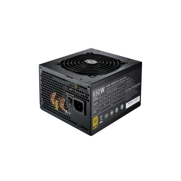 منبع تغذیه کامپیوتر کولر مستر مدل MWE 650W GOLD FULL