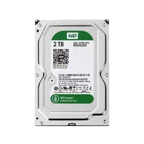 هارد دیسک اینترنال ظرفیت 2 ترابایت سبز وسترن دیجیتال