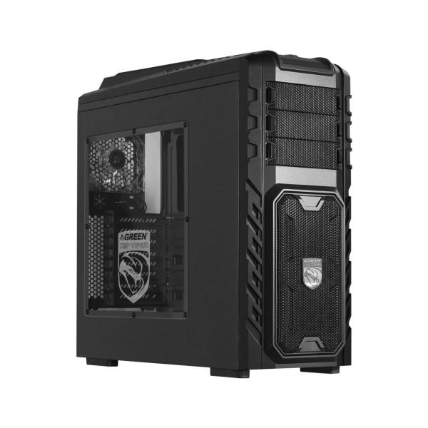 کیس مخصوص بازی گرین مدل GREEN COMPUTER CASE X3+ VIPER