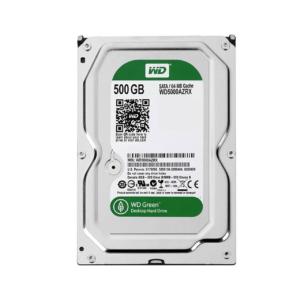 هارد دیسک اینترنال 500 گیگابایت سبز وسترن دیجیتال Western Digital Green