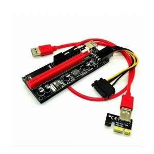 رایزر کارت گرافیک تبدیل PCI EXPRESS 1X به 16Xمدل 009S